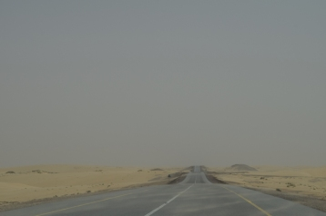 The empty roads towards Ashkarah