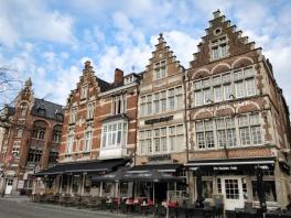 Typical Belgian buildings